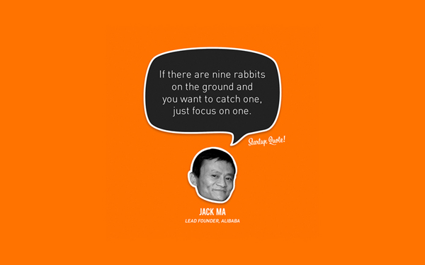 Jack Ma Startup Quote