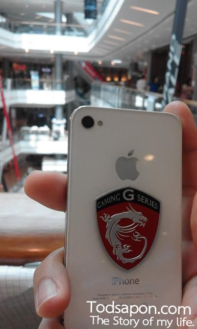 รูปภาพหน้าชัดหลังเบลอของกล้อง Samsung GALAXY J1