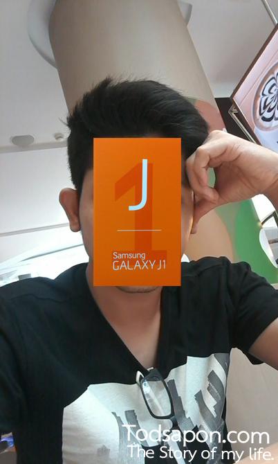 รูปภาพกล้องหน้า Samsung GALAXY J1 2 ล้าน