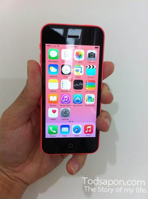 Apple iPhone 5c เครื่องใหม่ หน้าจอใสปิ้ง