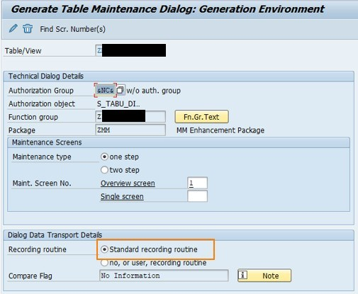 ABAP How to create a transport request for customizing table (z table)