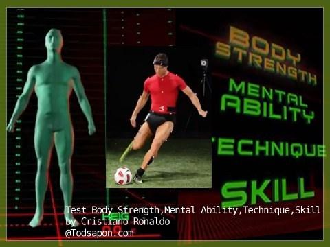 การทดสอบทั้ง 4 แบบของเด็กเก่าโครตทีมผีแดง (Cristiano Ronaldo)